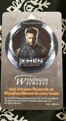 Wolverine, X-Men, Days of Future Past, Collectible, hotel key card