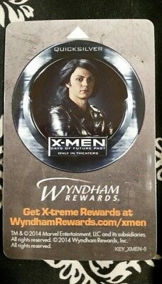 Quicksilver, X-Men, Days of Future Past, Collectible, hotel key card
