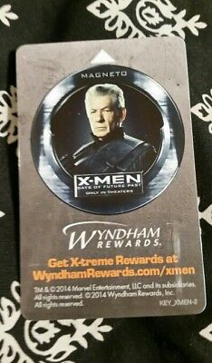 Magneto, X-Men, Days of Future Past, Collectible, hotel key card