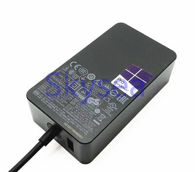 New 65W 15V 4A SurfaceBook AC Adapter Charger for Microsoft Model 1706 Tablet