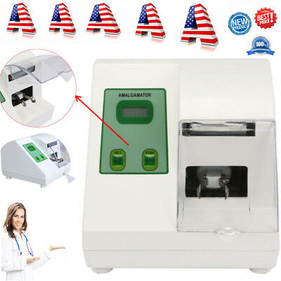 Digital Dental Lab HL-AH Amalgamator Capsule Mixer Blender Amalgam 110V 40W USA