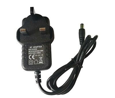 Universal Mains AC DC Power Adaptor Supply UK Plug Charger 5V 2A Power Supply