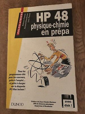 Livres Hp48, Hp 48 Hewlett Packard Hp48 Physique-chimie En Prepa 250 Pages