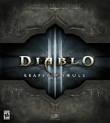 Diablo 3 III: Reaper of Souls Collector's Edition CE *Brand New, Sealed* PC 2014