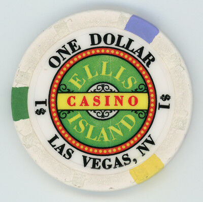 OBSOLETE $1 Ellis Island Casino Chip (LAS VEGAS)