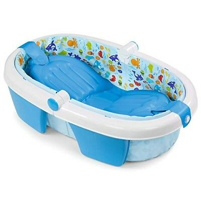 Summer Newborn to Infant to Toddler FoldAway BabyBath -- New In Box