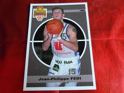 PANINI OFFICIAL CARDS N°99 - BASKETBALL 1994 SNB - Jean.Phil FEDI - MONTPELLIER