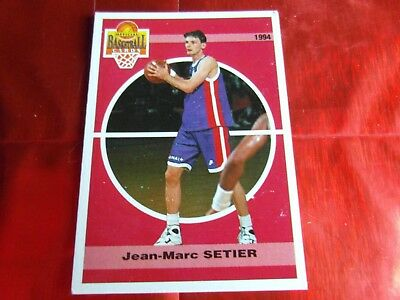Panini Official Cards N°117 - Basketball 1994 Snb - Jean.m Setier - Racing Psg