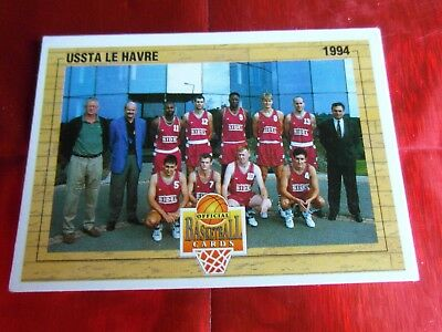 Panini Official Cards N°143 - Basket 1994 - Equipe Ussta Le Havre