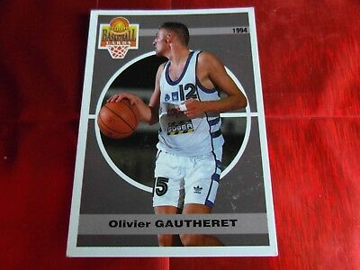 Panini Official Cards N°96 - Basketball 1994 Snb - O.gautheret - Montpellier