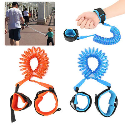 Child Kid Anti-lost Safety Leash Wrist Link Harness Strap Reins Rope Traction ET
