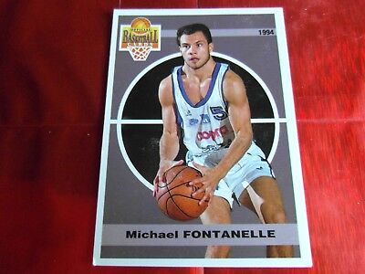 Panini Official Cards N°90 - Basketball 1994 Snb - M.fontanelle - Montpellier