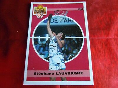 Panini Official Cards N°111 - Basketball 1994 Snb - S.lauvergne - Racing Psg