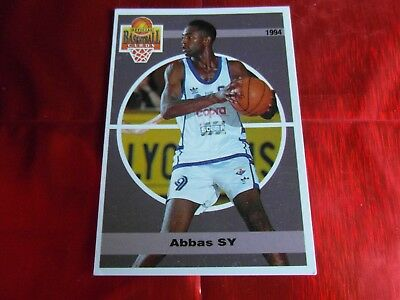 PANINI OFFICIAL CARDS N°91 - BASKETBALL 1994 SNB - Abbas SY - MONTPELLIER