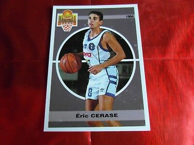 PANINI OFFICIAL CARDS N°92 - BASKETBALL 1994 SNB - Eric CERASE - MONTPELLIER