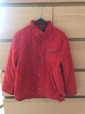 GIRLS POLO RALPH LAUREN QUILTED RED JACKET AGE: 6 Years
