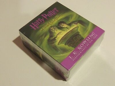 Harry Potter and the Half Blood Prince Audio Book on 17 CDs UNABRIDGED NEW!