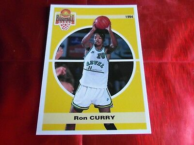 PANINI OFFICIAL CARDS N°134 - BASKETBALL 1994 SNB - Ron CURRY - ASVEL