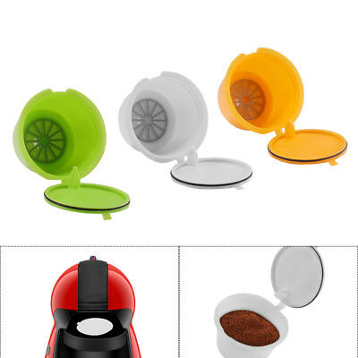 3pcs Capsule Pod Coffee Filter Cup Reusable Pods For Nescafe Dolce Gusto Machine