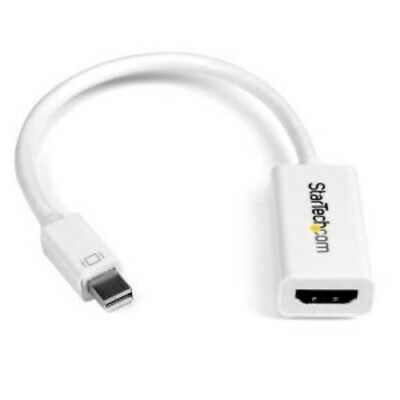 NEW STARTECH MDP2HD4KSW MINI DISPLAYPORT 1.2 TO HDMI 4K ADAPTER.b.