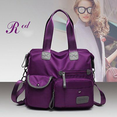 Fashion Portable Waterproof Nylon Hand Bag Large Capacity Shoulder Bag iv