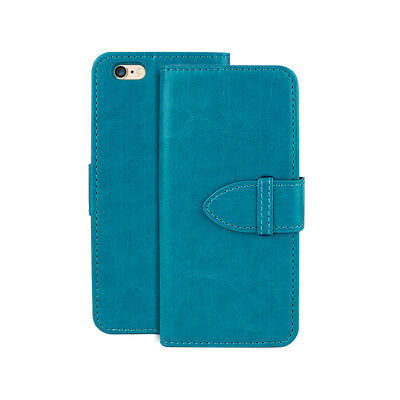 PU Leather Magnetic Flip Wallet Stand Case Cover For Apple iPhone 6Plus/ 6sPlus