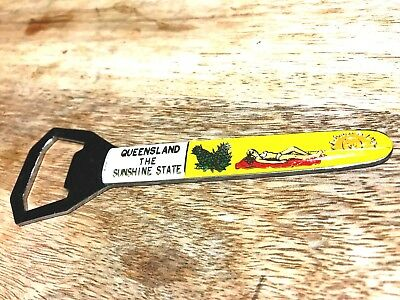 The Sunshine State-Queensland-1970's-Retro Bottle Opener-'Bikini Girl'-Fabulous.