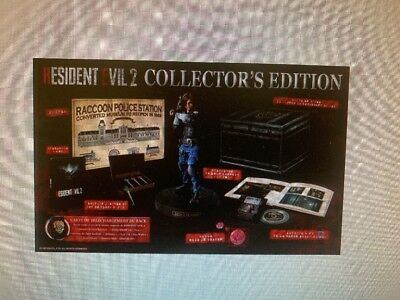 Resident Evil 2 Remake Edition Collector Ps4 Fr/eu Version