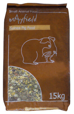 Mayfield Guinea Pig Food 15kg Small Animal Food Damaged 15.2KG