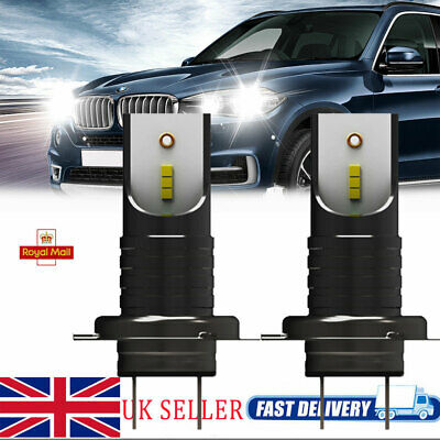 A Pair H7 LED Bulbs 110W 26000LM Headlight Conversion Kit Lamps CSP Chips CANBUS