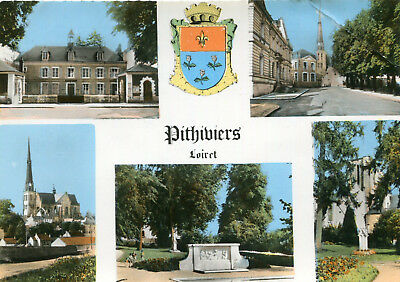 Carte PITHIVIERS Multivues