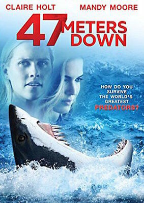 47 Meters Down (DVD) REGION 1 DVD (USA) Brand NEW and Sealed