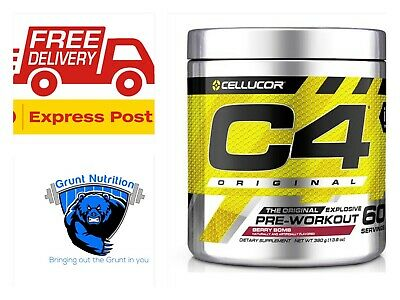 Cellucor C4 Original Id Series Explosive Energy 60 Serves Torquay Express Post