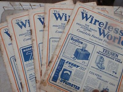 Wireless world  September  1933   illustrated 5 issues
