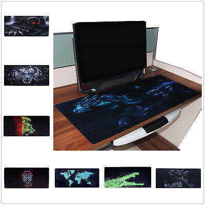 Printed Large Mouse Pad Extended Anti-slip Gaming mousepad Desk Mat 900mm*400mm