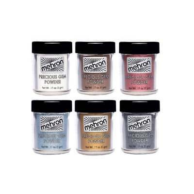 Mehron Precious Gem Powder 5g - All Colours