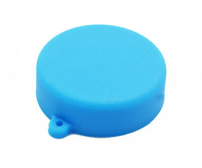 Blue Soft Silicone  Camera Lens Protective Cover Cap for GoPro Hero 3/3+/4