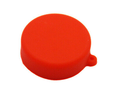 Red Soft Silicone  Camera Lens Protective Cover Cap for GoPro Hero 3/3+/4