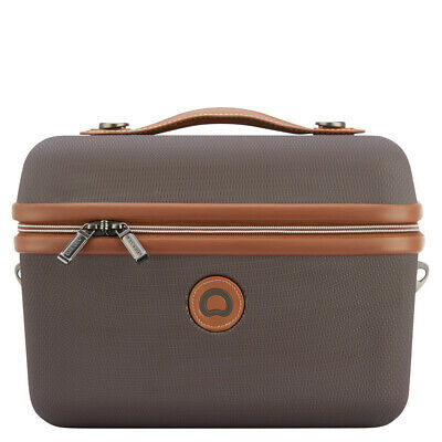 NEW Delsey Chatelet Air Tote Beauty Case Chocolate