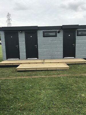 modular buildings portable cabin, portable building, Toilet Shower Block