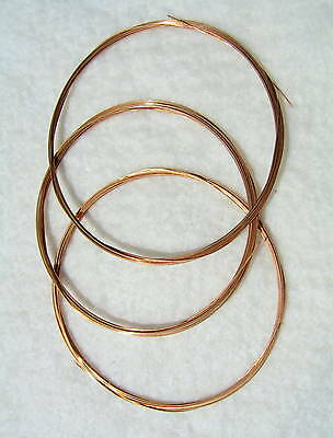 """Phosphor Bronze Wire-3m(9' 10""""long)-10 Sizes - Clocks and Clock Parts"""