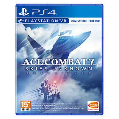 Ace Combat 7 Skies Unknown PlayStation PS4 PSVR 2019 Chinese Factory Sealed