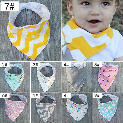 New Baby Feeding Head Scarf Towel Bib Boy Girls Bandana Saliva Triangle Dribble