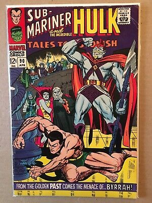 Tales to Astonish #90 (VG) Incredible Hulk 1ST APPEARANCE ABOMINATION 1966