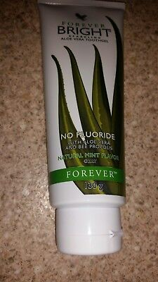 New Forever Living - Bright Aloe Vera Toothgel.Mint Flavour