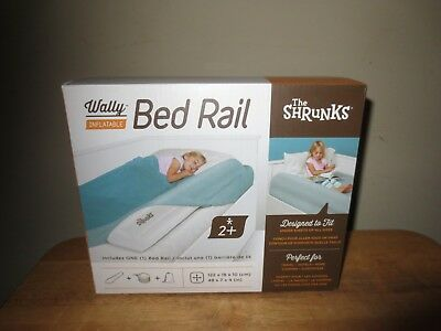 The Shrunks Wally Inflatable Bed Rail Baby Child Adult Sleep Safety Bumper New!