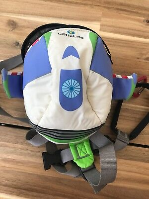 Little Life Disney Toy Story Buzz  Lightyear Backpack Bag Reins Harness Toddler