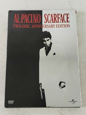 Scarface By Al Pacino Anniversary Edition 2-Disc Set