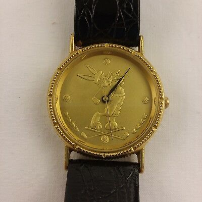 Bugs Bunny Golf watch gold face free shipping