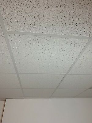 32 Armstrong Tatra Suspended Ceiling Tiles 595x595mm Square Edge 600x600 X 15mm
